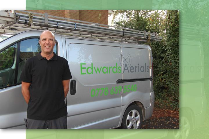 Edwards Aerials Installations in Tadley, Hampshire, Berkshire, North Hampshire