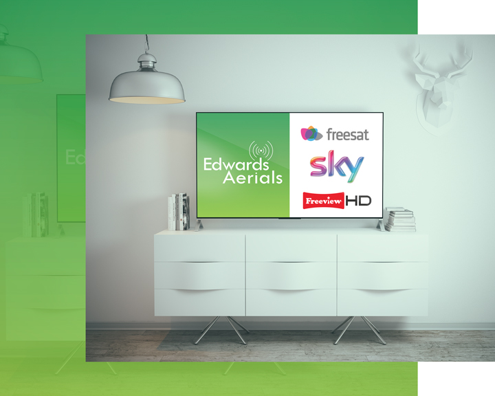 Digital Aerial Installation, Satellite installation and repair in Tadley, Hampshire. Freesat, SKY HD, Freeview HD
